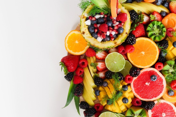 Variety of fruits for diabetes patient